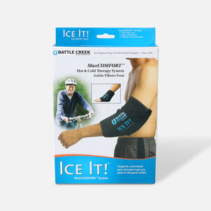 "Battle Creek Ice It! ColdCOMFORT Ankle/Elbow/Foot System 10.5"" x 13"""