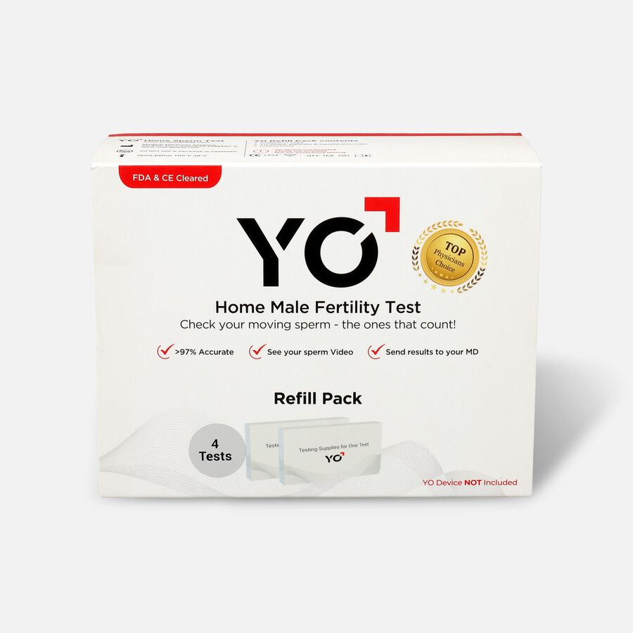 YO Home Sperm Test Kit Refill Pack, , large image number 1