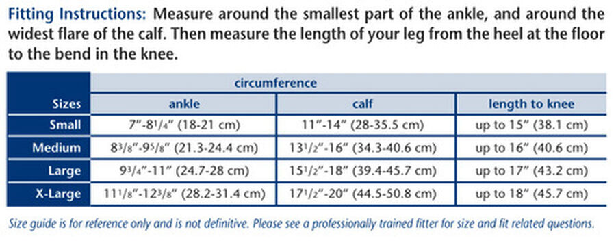 Truform Men's Dress Knee High Support Sock, 30-40 mmHg, Closed Toe, , large image number 9