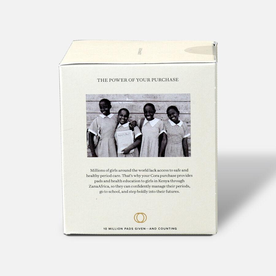 Cora Organic Cotton Applicator Tampons, Regular, 16ct, , large image number 3