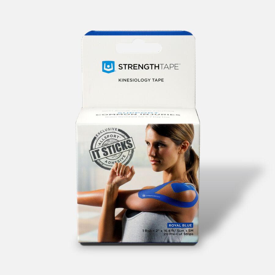 StrengthTape Kinesiology Precut Tape, 20 ct, , large image number 2