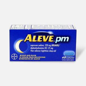 Aleve PM Caplets, 40 ct