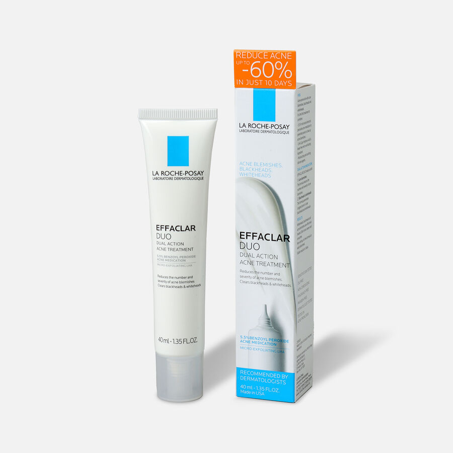 La Roche-Posay Effaclar Duo Acne Treatment with Benzoyl Peroxide, , large image number 2