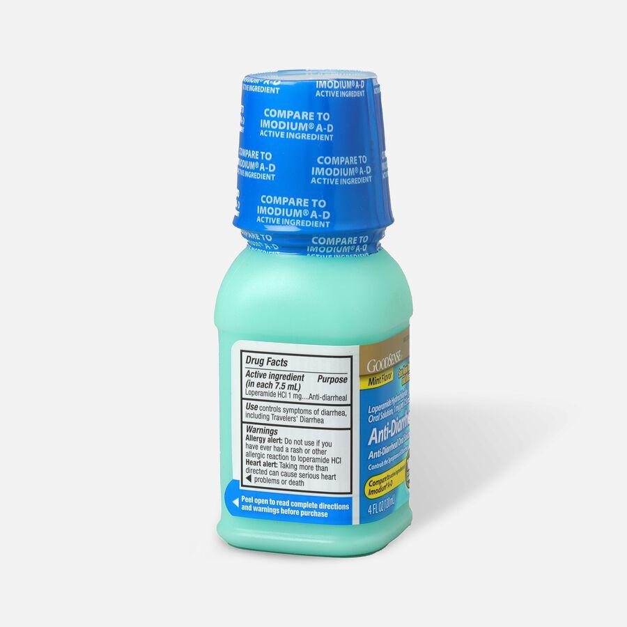 GoodSense® Anti-Diarrheal Loperamide Hydrochloride Oral Solution,1mg per 7.5mL, Mint, 4fl oz, , large image number 1
