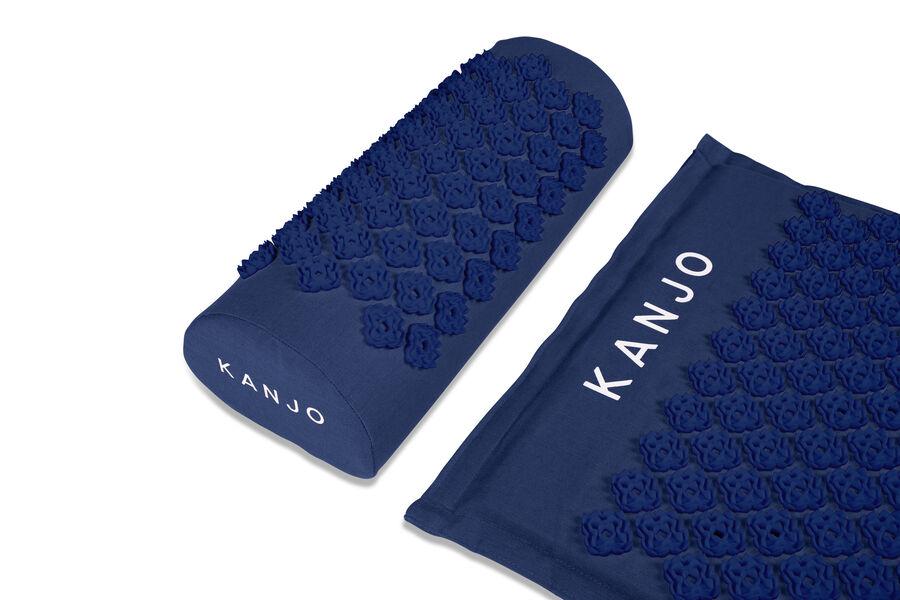 Kanjo Memory Foam Acupressure Mat Set, Navy Blue, , large image number 6