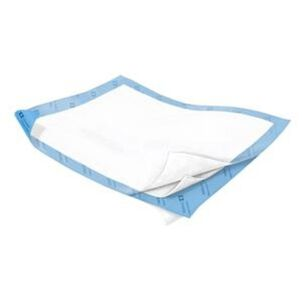 """WINGS™ Quilted Premium Comfort Underpad 30"""" x 36"""" (76.2 cm x 91.4 cm), Extra Heavy Absorbency- 10 pack"""
