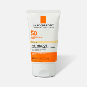 La Roche-Posay Anthelios Gentle Lotion Mineral Sunscreen, SPF 50, 4.05 fl oz