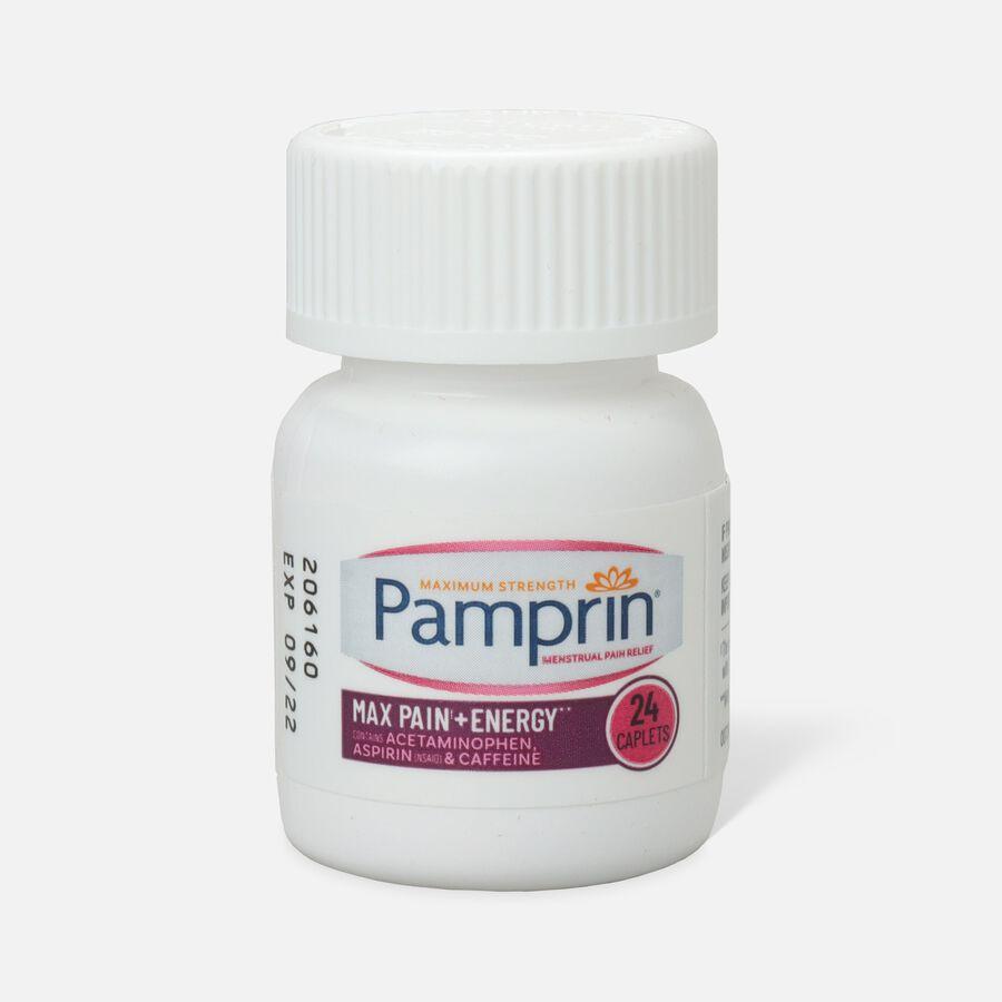 Pamprin Max Formula Caplets, 24 ct, , large image number 0