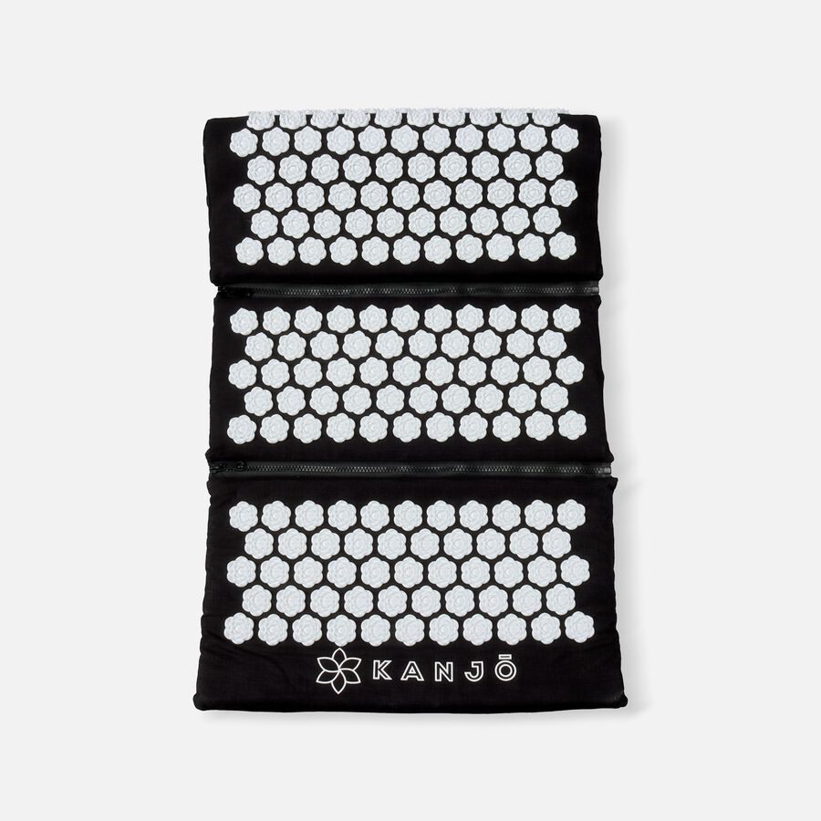 Kanjo Memory Acupressure Mat Set with Pillow, Onyx, , large image number 0