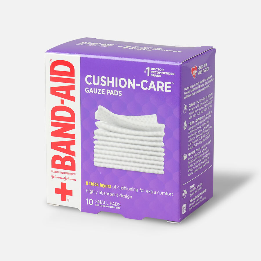 """Band-Aid First Aid Gauze Pads 2""""x2"""", , large image number 2"""