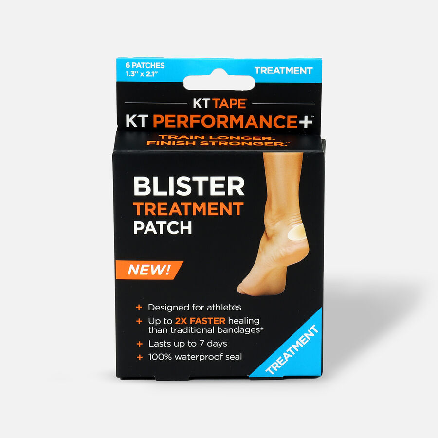 KT Tape Performance+™ Blister Treatment Patch, 6 ct, , large image number 0