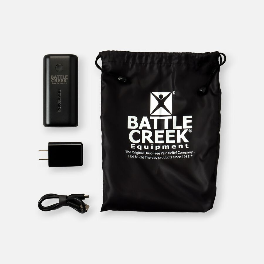 Battle Creek Embrace ™ Relief Shoulder Wrap – Portable, 3 Temperature Settings, Auto Shut Off, Wireless & Rechargeable Wrap, Battery-Operated Heat Therapy Wrap for Rotator Cuff and Shoulder Pain Relief, , large image number 4