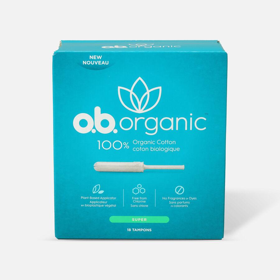 o.b. Organic Tampon with Applicator 18ct, , large image number 2
