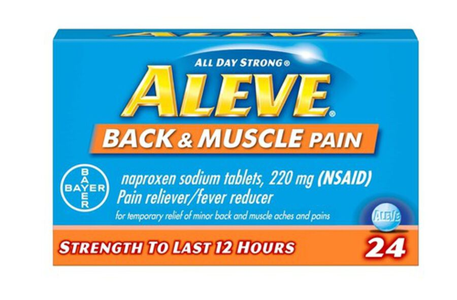 Aleve Back & Muscle Pain, 24ct, , large image number 0