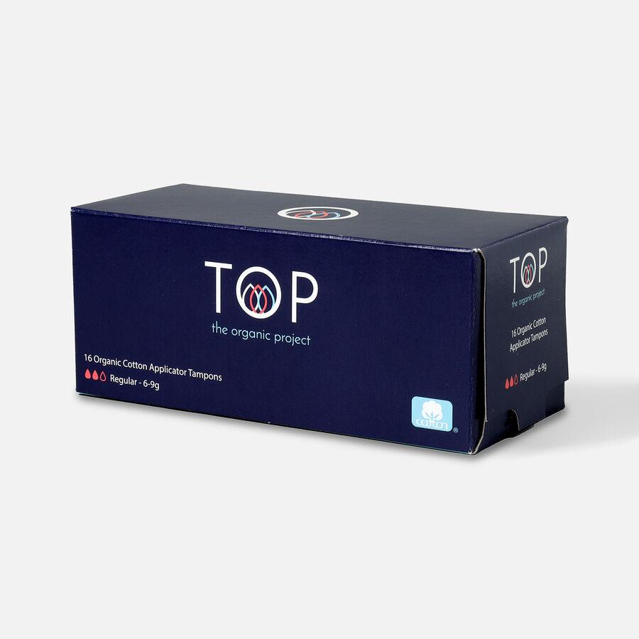 TOP Organic Cotton Cardboard Applicator Tampon, , large image number 2
