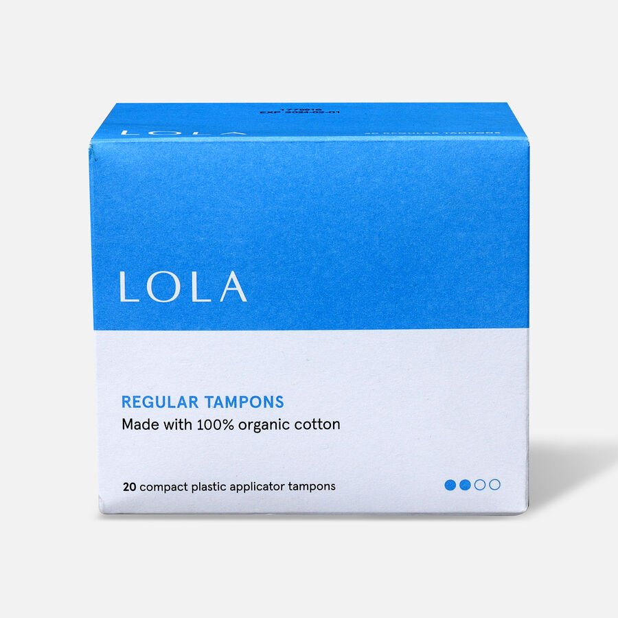 LOLA Tampons, Compact Plastic Applicator, 20ct, , large image number 3