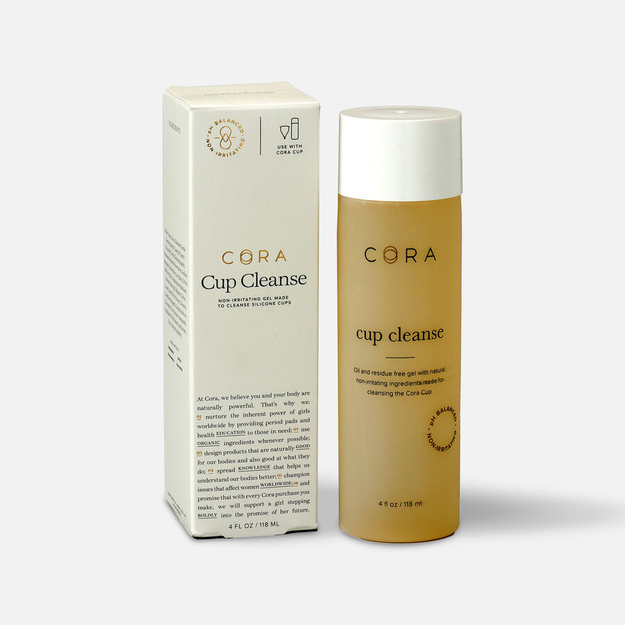 Cora Cup Cleanser, 4 oz, , large image number 0