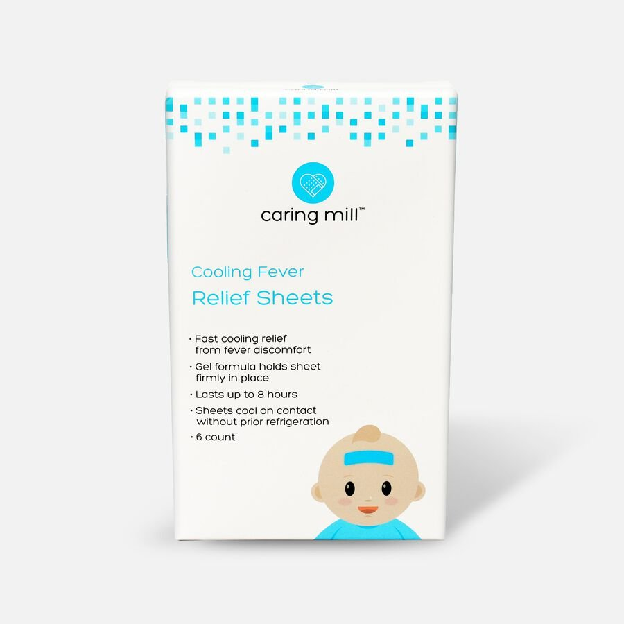 Caring Mill® Fever Relief Sheets, 6 Count, , large image number 0