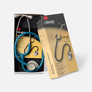 "3M Littmann Lightweight II S.E. Stethoscope, Caribbean Blue Tube with Standard Finish, 28"""
