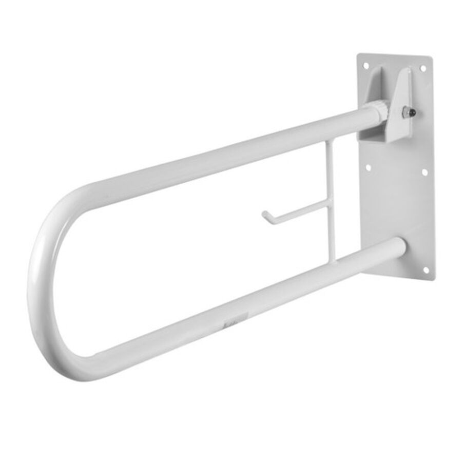 Healthsmart® Fold Away Grab Bar Shower Safety Handrail, , large image number 3
