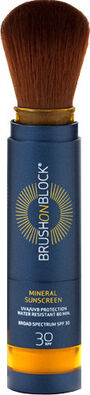 Brush on Block Facial Mineral Sunscreen Powder, SPF 30, 3.4 g, , large image number 3