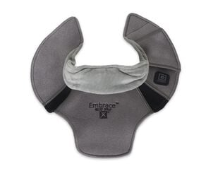Battle Creek Embrace ™ Relief Neck Wrap – Portable, 3 Temperature Settings, Auto Shut Off, Wireless & Rechargeable Wrap, Battery-Operated Heat Therapy Wrap for Neck Pain Relief