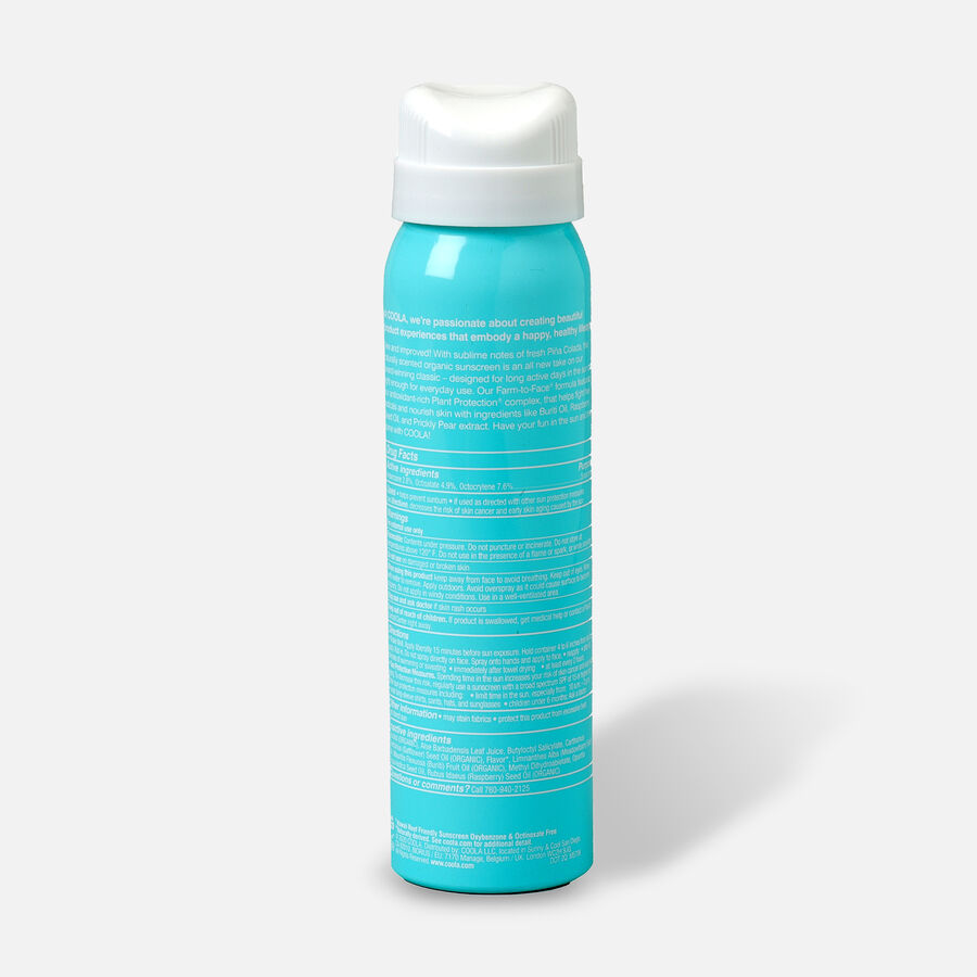 Coola Classic Body Organic Sunscreen Spray SPF 30 Pina Colada - Travel Size, , large image number 1