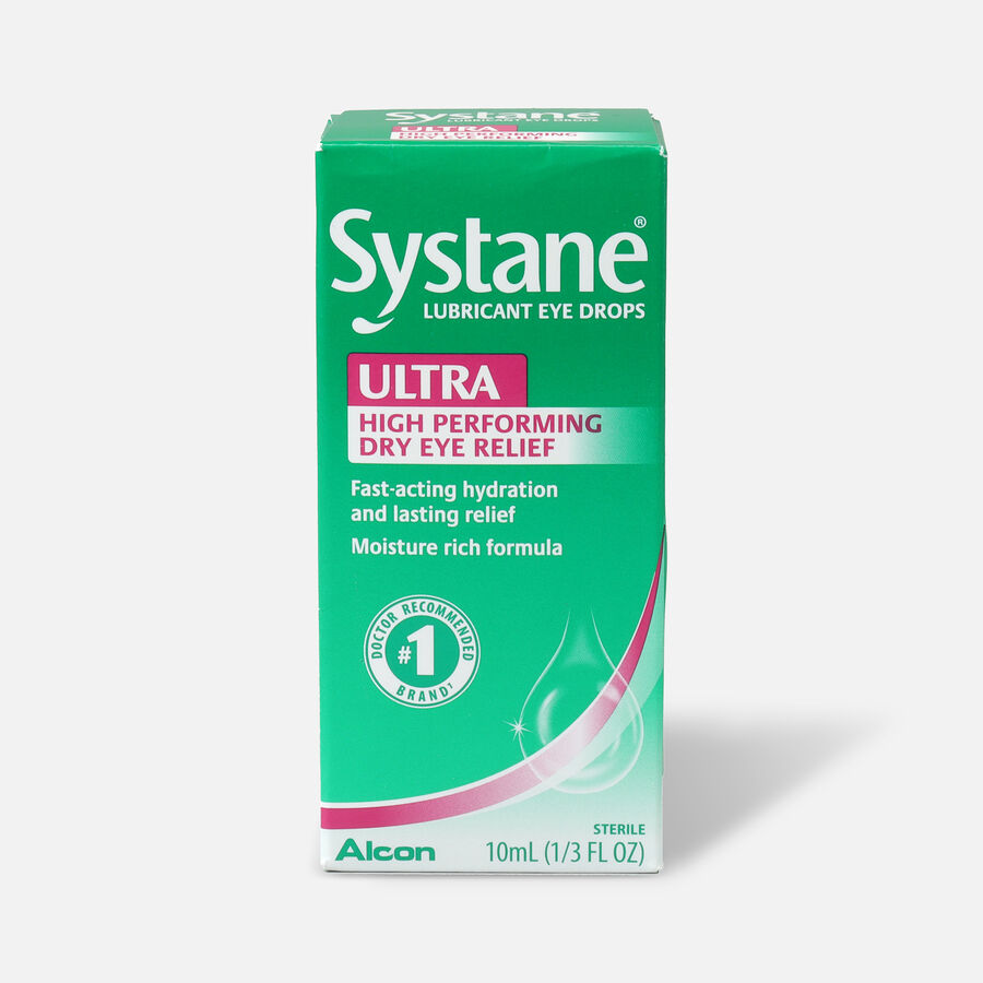 Systane Ultra Lubricant Eye Drops,10ml, , large image number 0