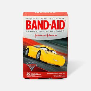Band-Aid Adhesive Bandages, Disney/Pixar Cars 3, 20 ct.