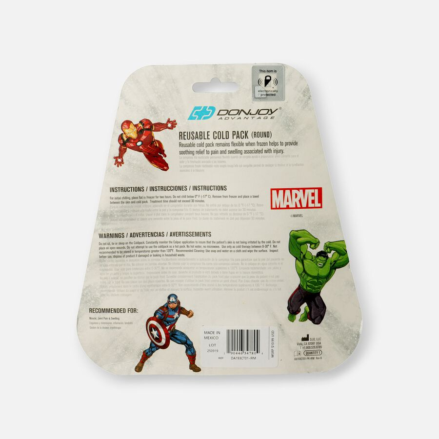DonJoy Marvel Reusable Cold Pack - Iron Man, , large image number 1