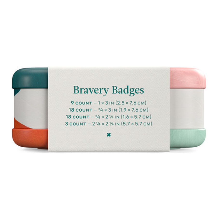 Welly Bravery Badges Block Geo Assorted Flex Fabric Bandages - 48ct, , large image number 5
