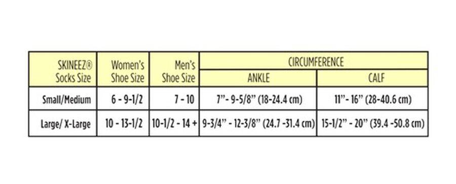 Skineez Skin-Reparative Hydrating Compression Socks, 30-40, , large image number 3