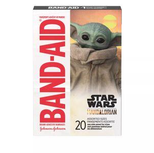 Band-Aid Mandalorian Adhesive Bandage, 20 ct