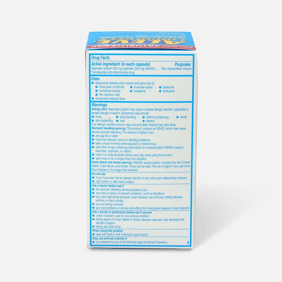 Aleve Arthritis Liquid Gels, Easy Open Cap, 80ct, , large image number 1
