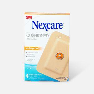 "Nexcare Absolute Waterproof Adhesive Pads, 3"" x 4"" - 4ct"