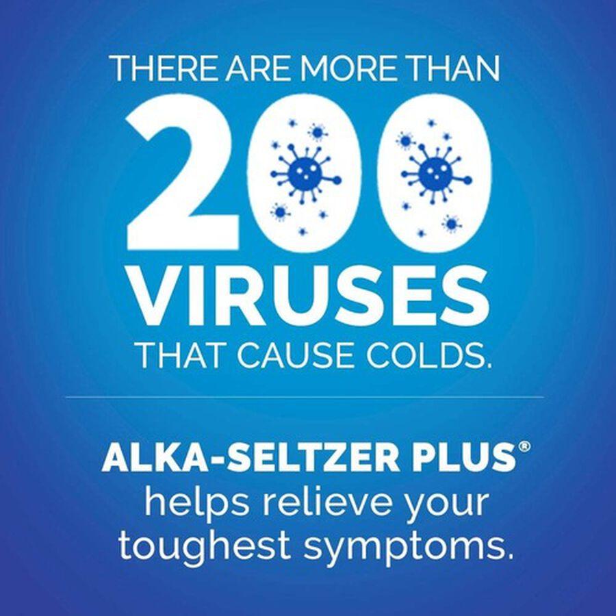 Alka-Seltzer Plus Severe Cold & Flu Powerfast Fizz Tablets, Citrus - 20 ct, , large image number 6