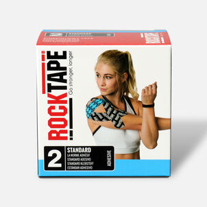 RockTape Standard Roll, Electric Blue, 2 in x 16.4 ft