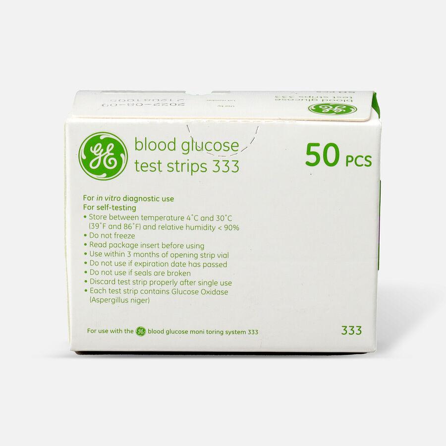GE333 Blood Glucose Test Strips, 50 CT, , large image number 1