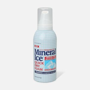 Mineral Ice Quick Dry Foam