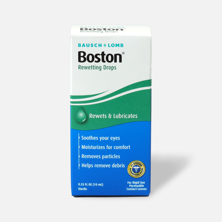 Boston Rewetting Drops, .33 oz, , large image number 0
