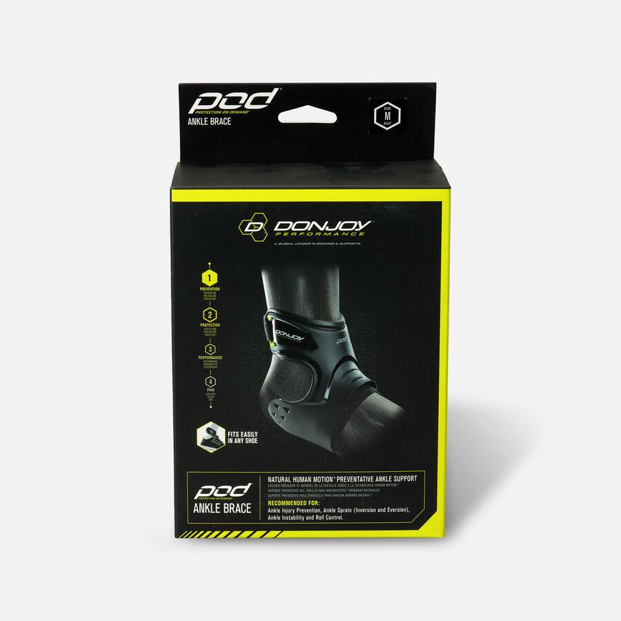 DonJoy Performance Pod Ankle Brace, Black, Medium, Right, , large image number 0
