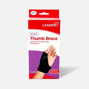 Leader Thumb Spica Support, Black