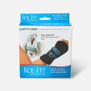 """Battle Creek Ice It! Deluxe Wrist Wrap System, Model 570, 4.2"""" x 8.2"""", 1 ea"""