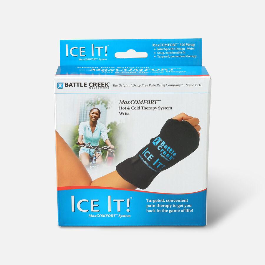 "Battle Creek Ice It! Deluxe Wrist Wrap System, Model 570, 4.2"" x 8.2"", 1 ea, , large image number 0"