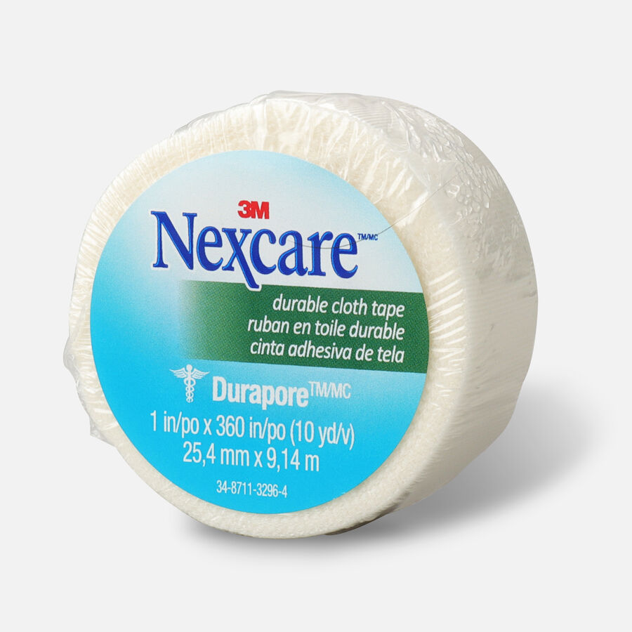 "Nexcare Durable Cloth Tape 1"" x 10 yds. - 1ct, , large image number 2"