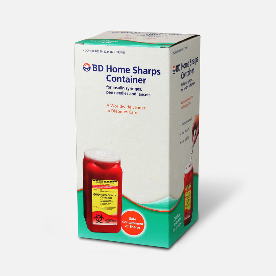 BD Home Sharps Container, 1 ea, , large image number 2