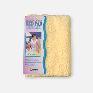 Essential Medical Supply Sheerskin Synthetic Bed Pad, 30x40