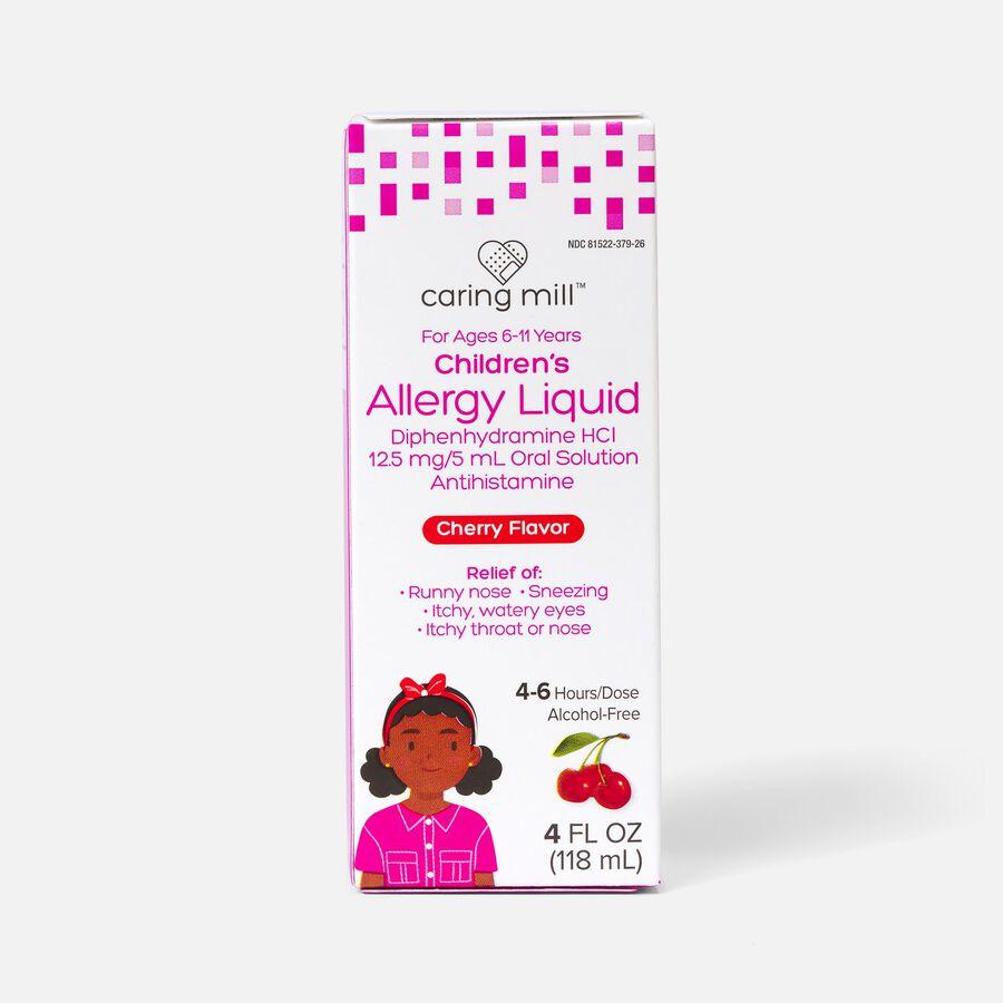 Caring Mill™ Children's Allergy Liquid, Cherry Flavor, 4 fl oz, , large image number 0