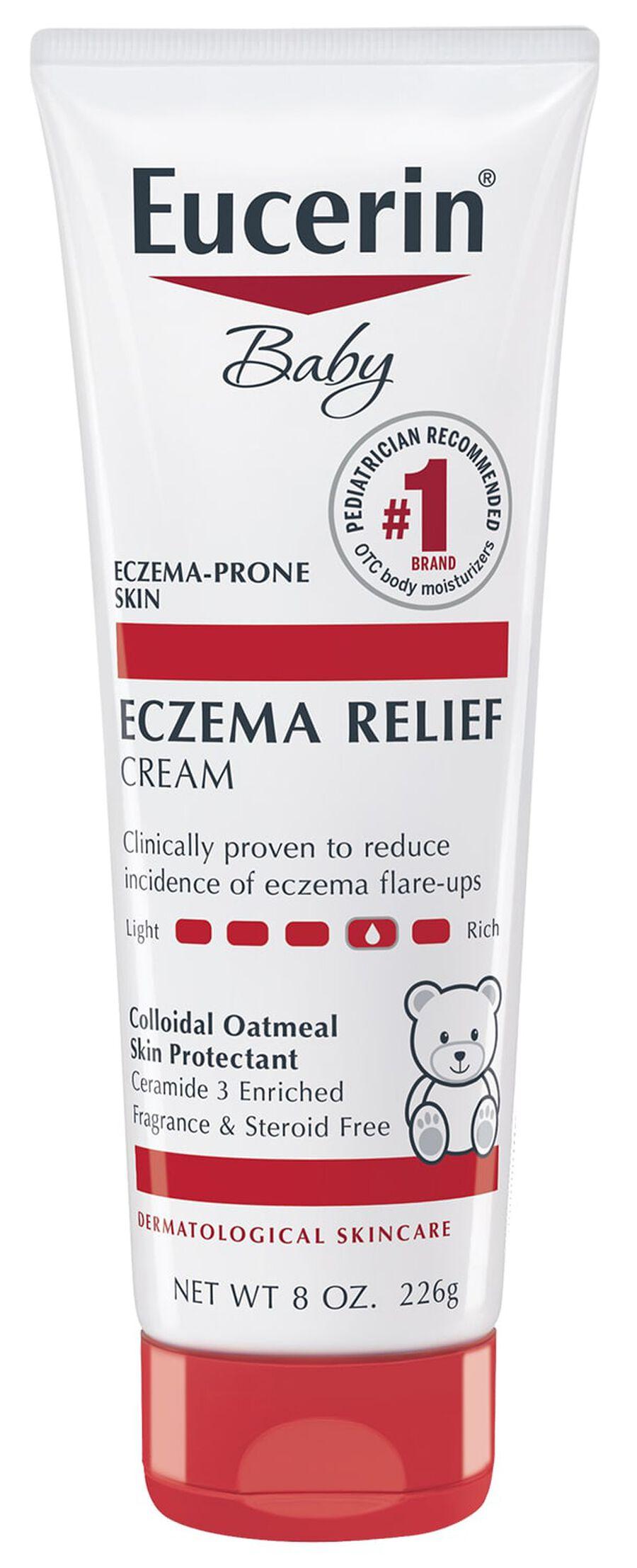 Eucerin Baby Eczema Cream, 8oz., , large image number 0