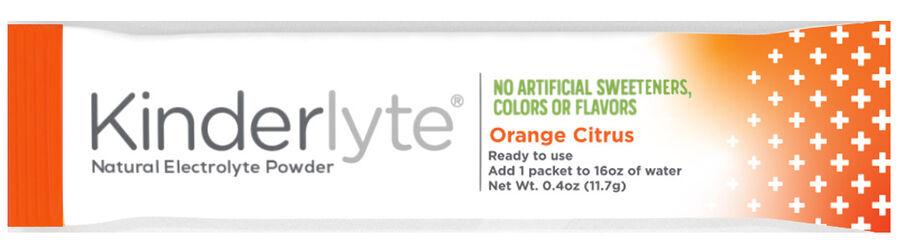 Kinderlyte Herbal Immunity Supplement Powder Orange Citrus, 6 Count, , large image number 4